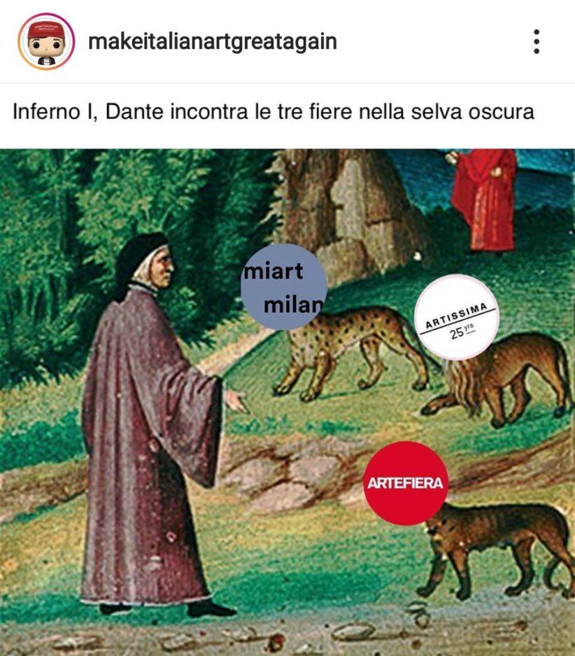 Un'immagine condivisa sul profilo Instagram di Giulio Alvigini