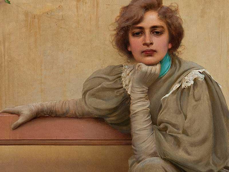 """Raffinatissimo """"pittore di belle donne"""". Lo Sguardo di Vittorio Corcos a Torino"""