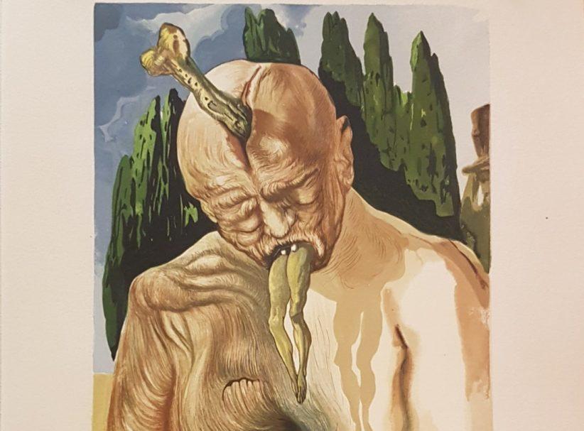 Salvador Dalì, Lucifero