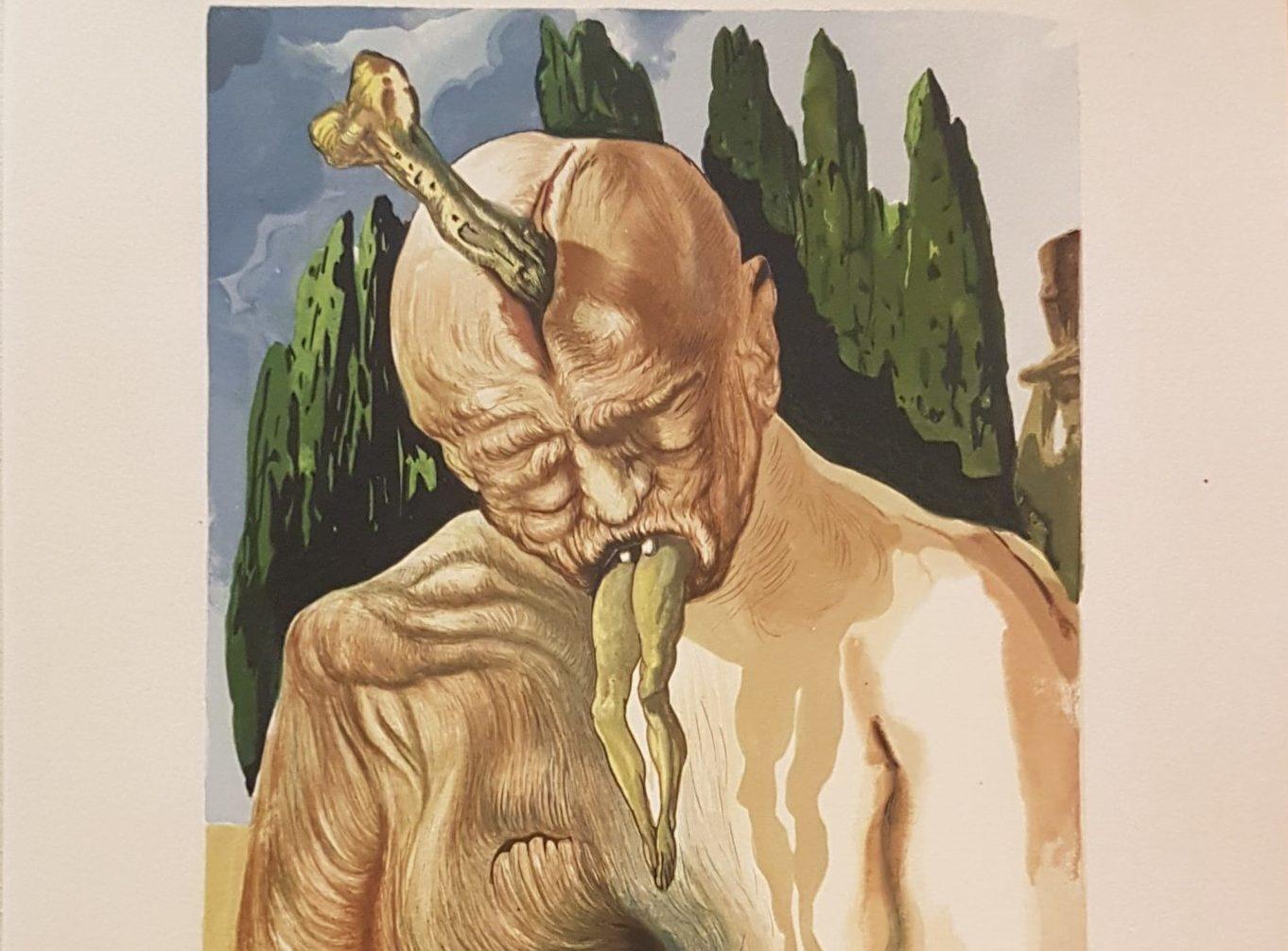 La Divina Commedia secondo Dalì: le illustrazioni che raccontano Dante, a Milano