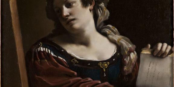 Guercino, Sibilla, 1620, olio su tela, Cento, Fondazione Cassa di Risparmio