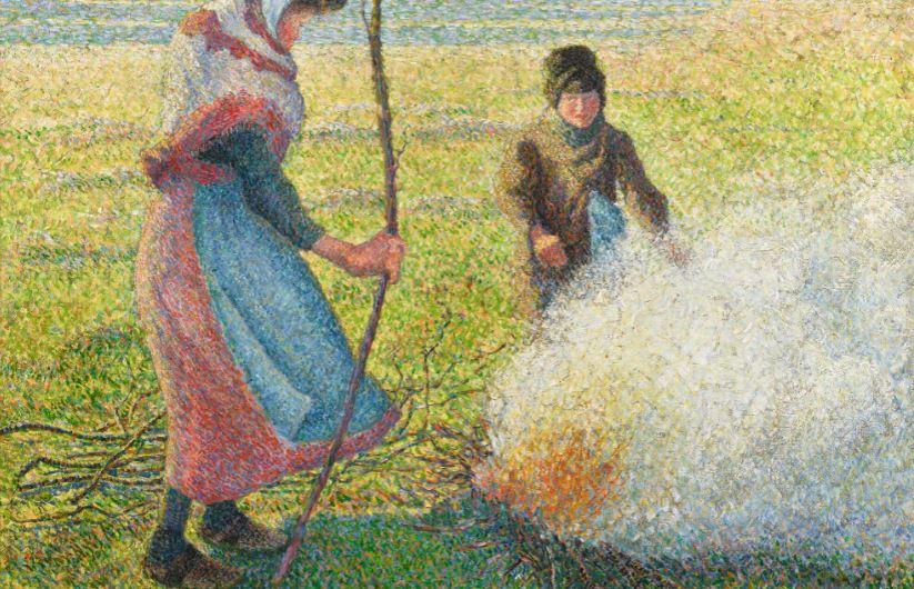Il fuoco di Pissarro accende l'asta di Sotheby's a Londra (però non scalda)