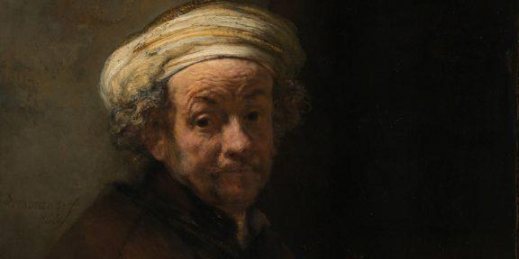 REMBRANDT (Leida, 1606 – Amsterdam, 1669) Autoritratto come san Paolo , 1661 olio su tela, cm. 91x77 Amsterdam, Rijksmuseum