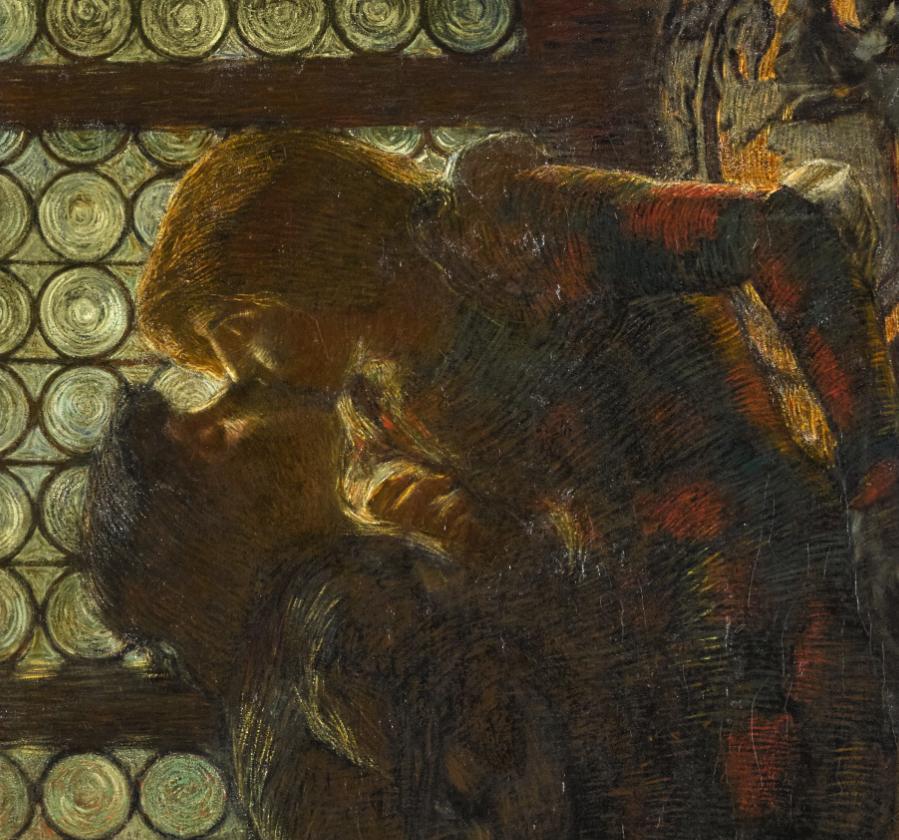 L'eterno Bacio di Romeo e Giulietta dipinto da Previati, in mostra a Milano per soli 3 giorni
