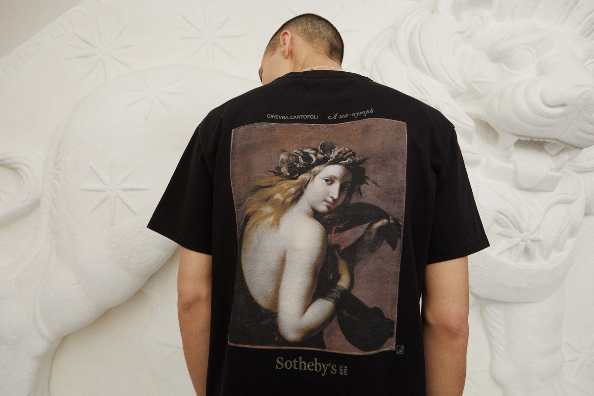 Gli Old Masters tornano di moda. Sotheby's lancia una limited edition con il brand Highsnobiety per i nuovi collezionisti Millenials