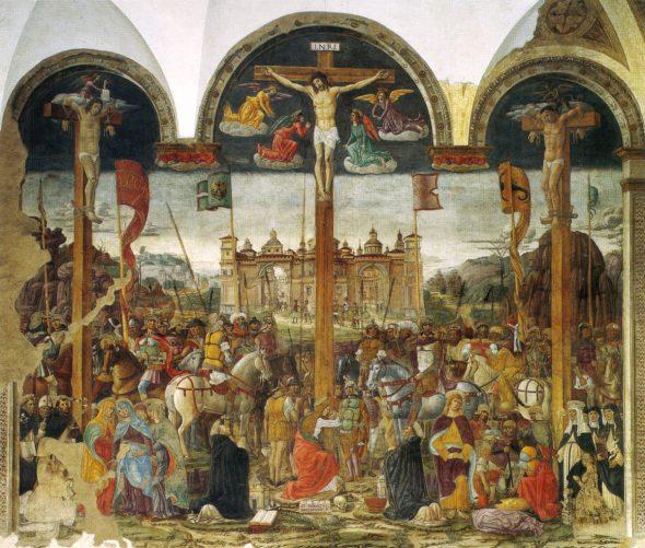 Donato Montorfano, Crocifissione, 1495