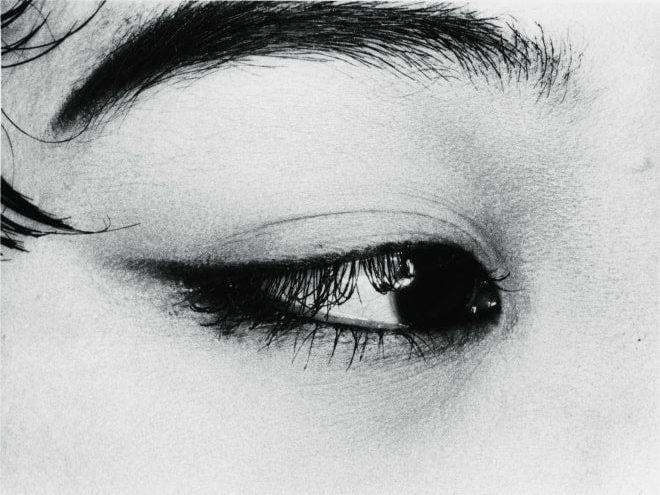 Nobuyoshi Araki (b. 1940), The Look from Erotos, 1993, silver gelatin print, dimensions variable, private collection. Picture credit: © Nobuyoshi Araki
