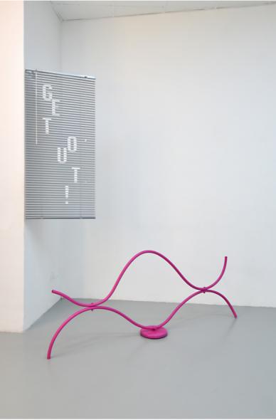 Nicola Gobbetto - Filler, exhibition view, Dimora Artica. Courtesy and photos the artist and Dimora Artica, Milano