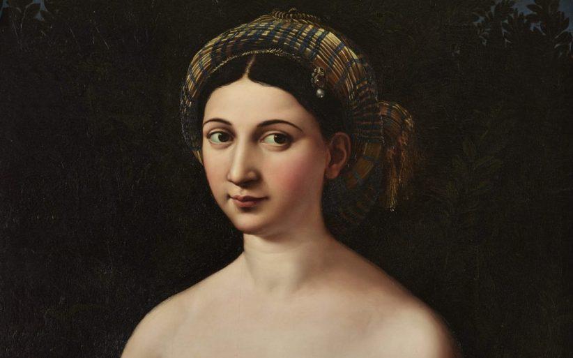 Raffaello Ritratto di donna nei panni di Venere (Fornarina)