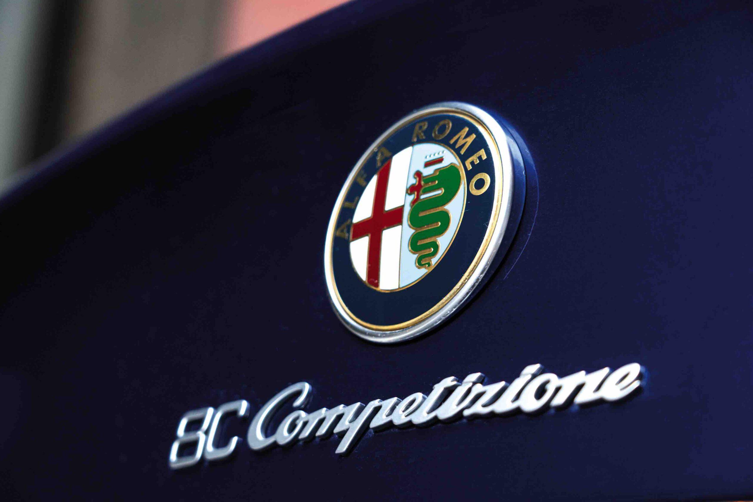 Il Colore di una Scommessa. La storia dell'Alfa Romeo 8C Competizione
