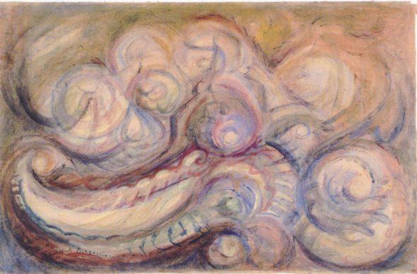 Alberto Bragaglia, Composizione ondulata