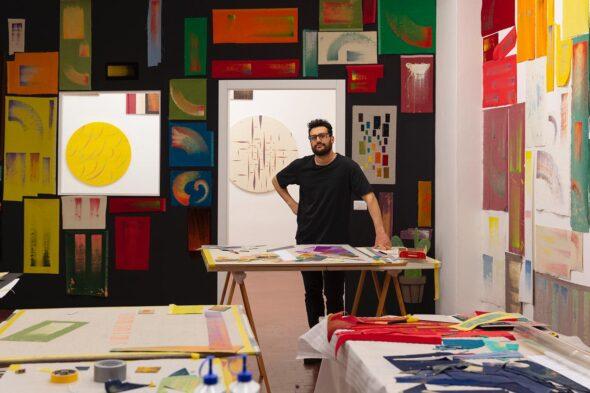 RICCARDO BERETTA in Studio, foto di Andrea Rossetti