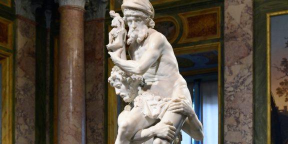 Enea, Anchise e Ascanio, di Gian Lorenzo Bernini (particolare)