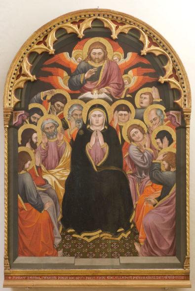 Taddeo di Bartolo Galleria Nazionale dell'Umbria Pentecoste, 1403