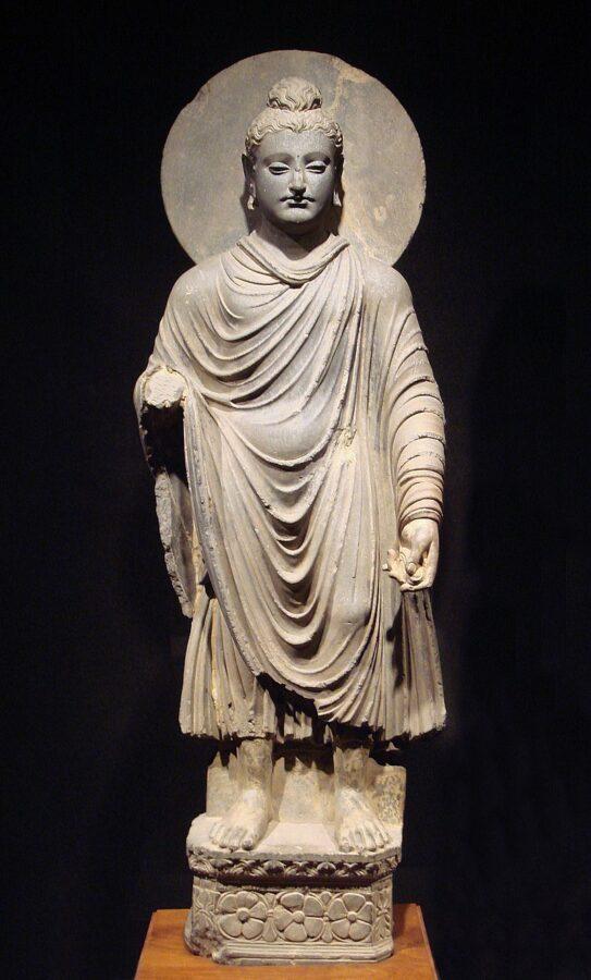 Gandhara Buddha, Museo Nazionale di Tokyo