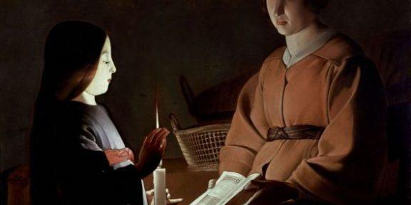 Georges de La Tour, L'educazione della Vergine