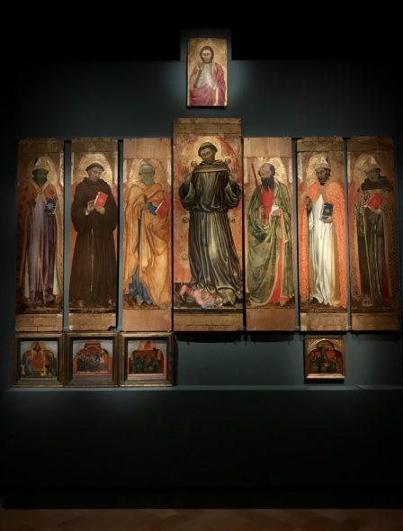 Taddeo di Bartolo Galleria Nazionale dell'Umbria 2020 Polittico bifacciale di San Francesco al Prato, 1403
