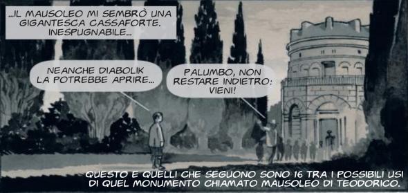 Il Mausoleo di Teodorico a Ravenna nei fumetti di Giuseppe Palumbo