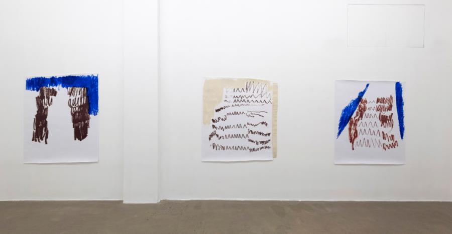 Esther Kläs, Maybe it can be different, 2020, installation view at Fondazione Giuliani - Courtesy Fondazione Giuliani Roma, ph. Giorgio Benni