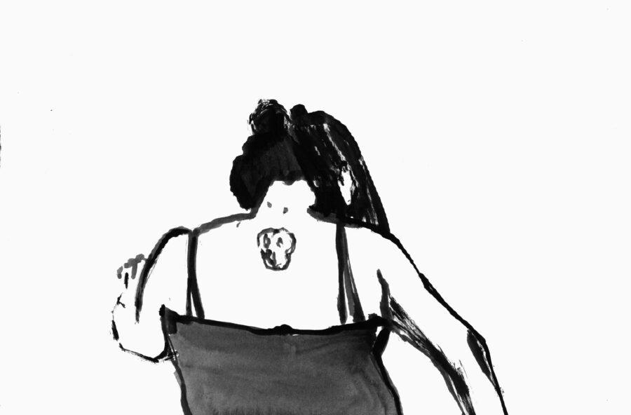 Lucia Veronesi, Study for Happiness, Still da video, marzo 2020 Da: #ARTISTSINQUARANTINE @artistsinquarantine https://www.instagram.com/p/B9sMB9TI4iA/