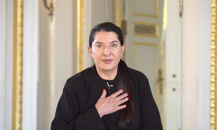 Marina Abramović, immagine della Fondazione Palazzo Strozzi