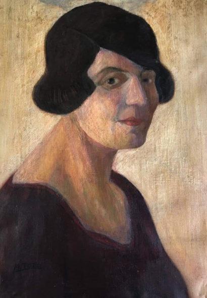 Galleria de' Bonis Reggio Emilia Mario Tozzi, Ritratti di famiglia III, 1920