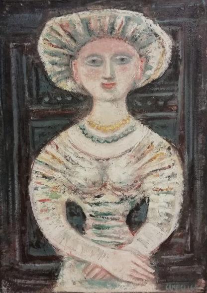 Galleria de' Bonis Reggio Emilia Massimo Campigli, Figura di donna, 1964