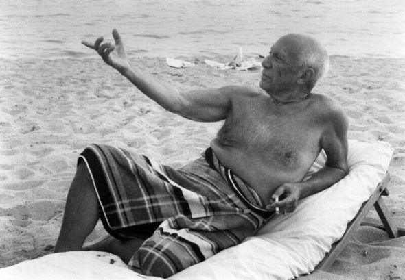 Pablo Picasso. Sulla spiaggia