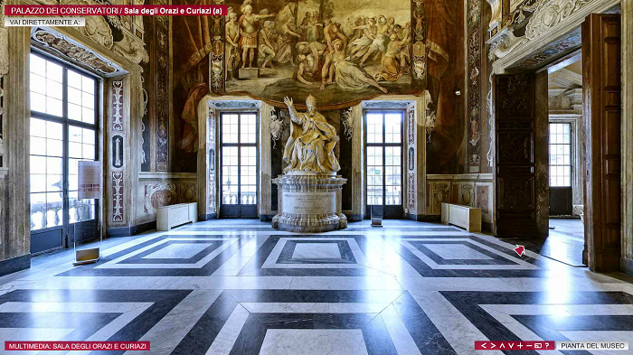 Musei Capitolini- Tour Virtuale con Google Arts and Culture