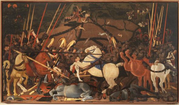 Paolo Uccello, Battaglia di San Romano (Disarcionamento di Bernardino della Ciarda)