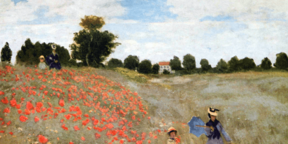 Claude Monet, I Papaveri, 1873