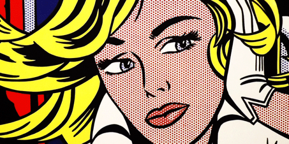 Roy Lichtenstein, M-Maybe (A Girl's Picture), 1965