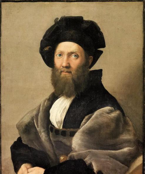 Raffaello Ritratto di Baldassarre Castiglione