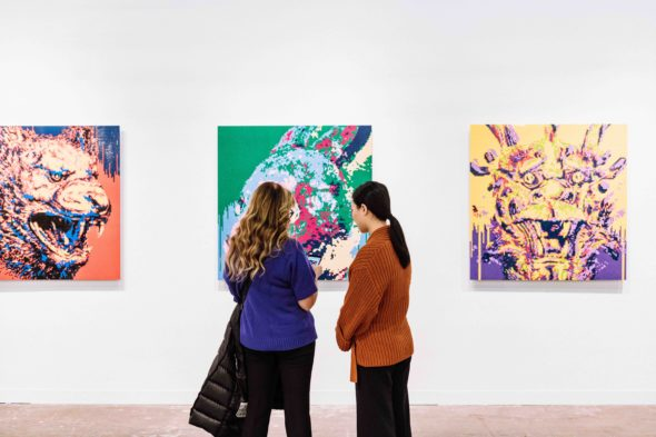 Armory Show 2020 Ai Weiwei, Deitch Projects