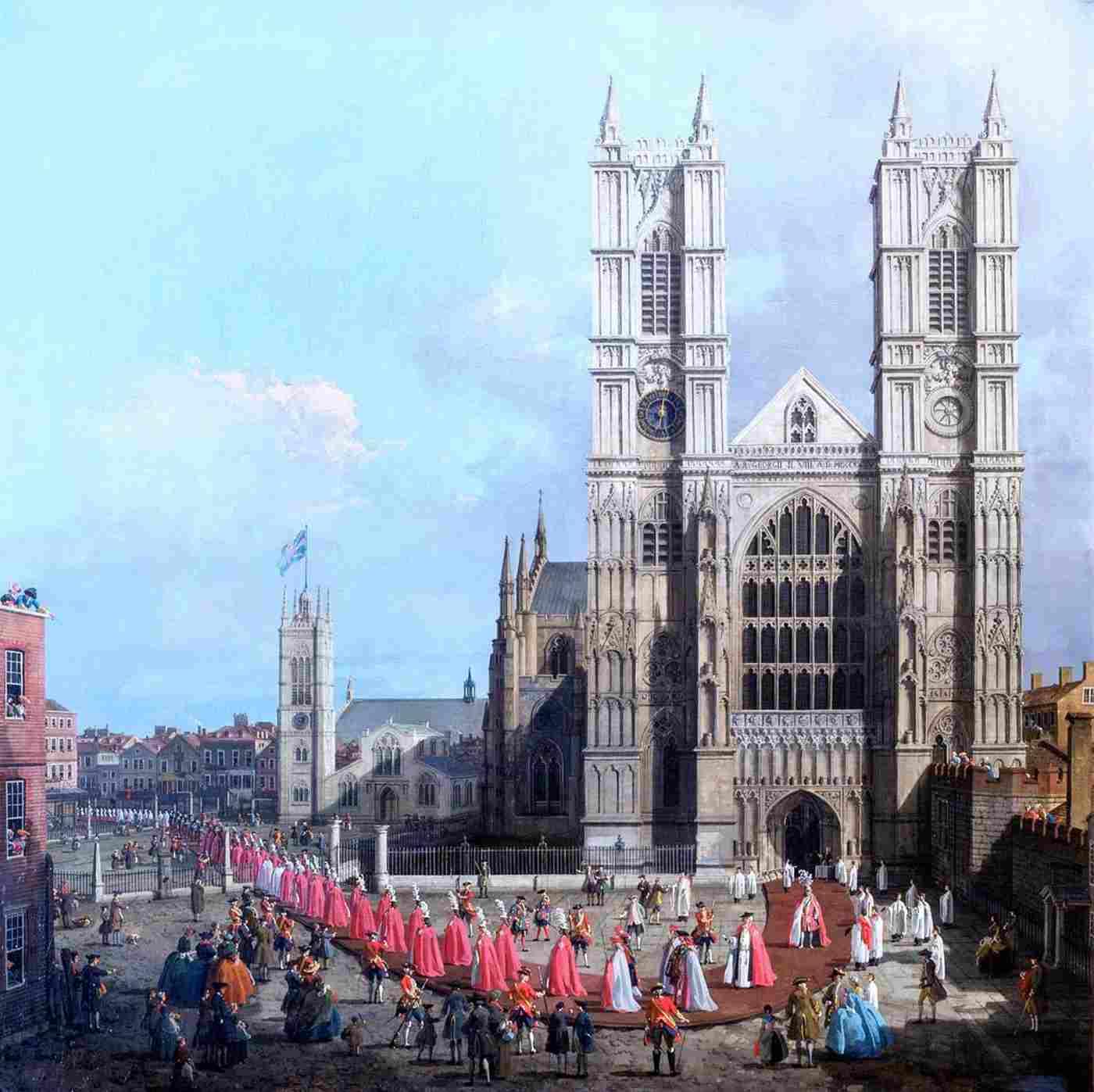 In mostra a Londra la Westminster Abbey di Canaletto, raramente vista in pubblico