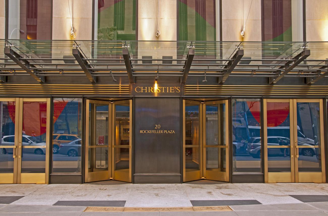 Christie's e Phillips cancellano le vendite di maggio a NYC. Mega aste a giugno