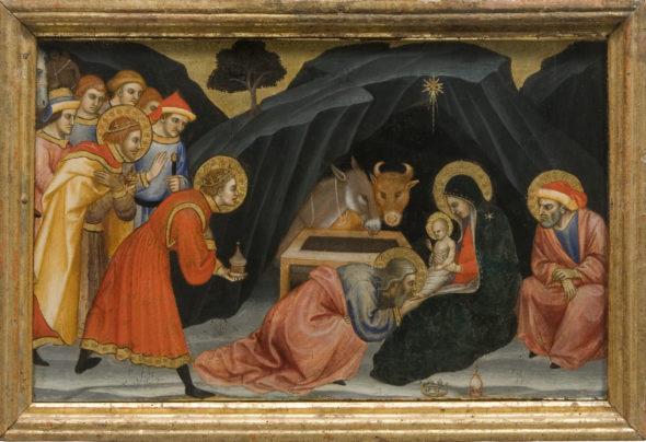 Taddeo di Bartolo Galleria Nazionale dell'Umbria 2020 Adorazione dei Magi
