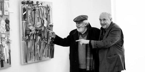 Daniel Spoerri et Gino Di Maggio, 2014 ©DR