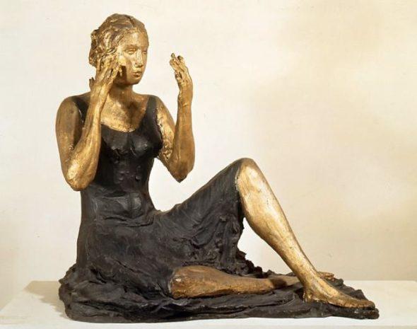 Lucio Fontana, La signorina seduta