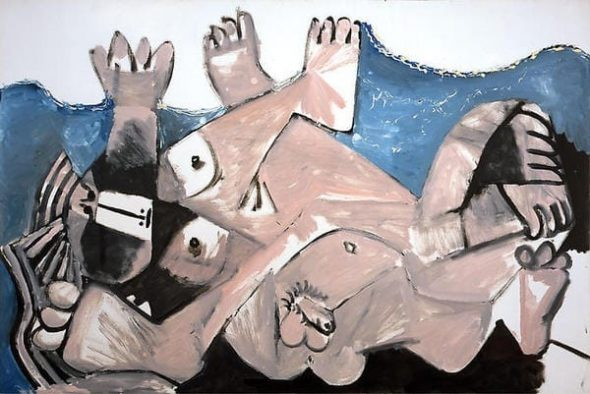 Pablo Picasso, Entreinte
