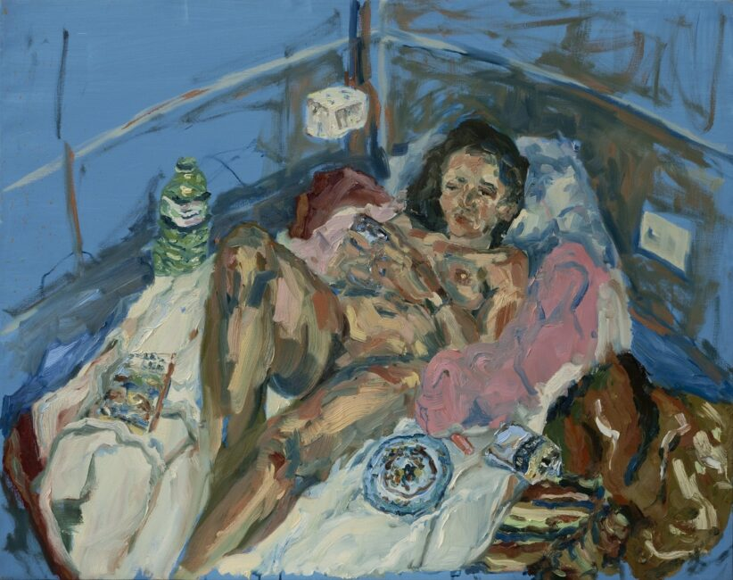 Da #ARTISTSINQUARANTINE Sophie Westerlind, Dvala, olio su lino, 95 X 110 cm, 2020 https://www.instagram.com/p/B-Ua58doRjs/