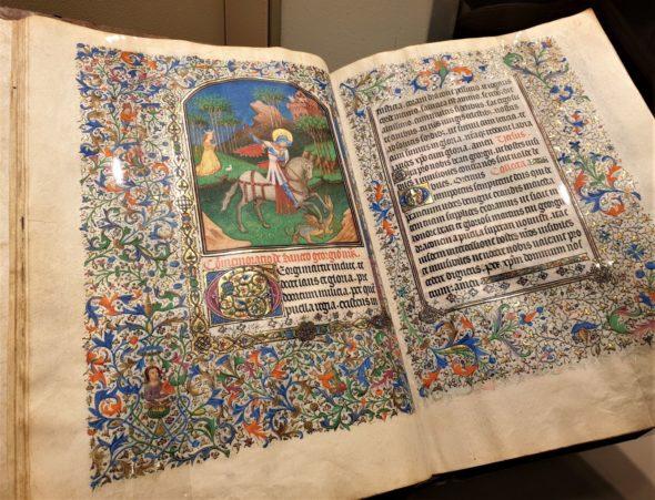 Meraviglioso (e di grande formato) Libro delle Ore miniato realizzato a Bruges nel 1440, da Les Enluminures