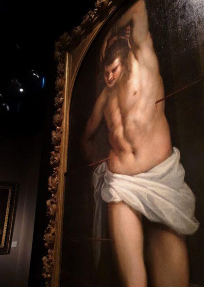 Martirio di San Sebastiano da Michel Descours