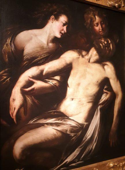Compianto su Cristo morto di Procaccini, 1620 ca, da Piacenti