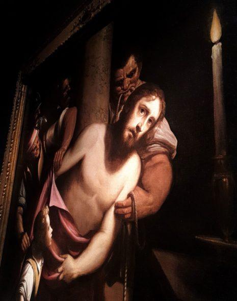 Luca Cambiaso a lume di candela mezzo secolo prima di De la Tour (Critsto denudato), da Canesso