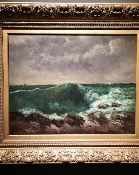 L'onda di Courbet da quasi 2 milioni di dollari, da 19C