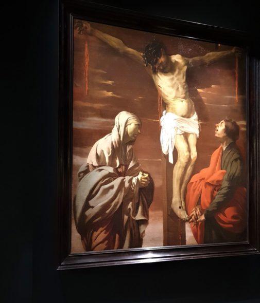 Crocifissione di Ter Brugghen, 1624-1625, da Adam Williams e Amells Konsthandel