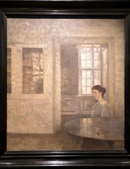 Interno, capolavoro di Hammershoi, da Adam Williams e Amells Konsthandel