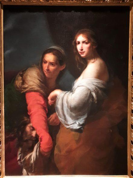 Maestoso. Giuditta e Oloferne di Furini, 1642, da Rob Smeets
