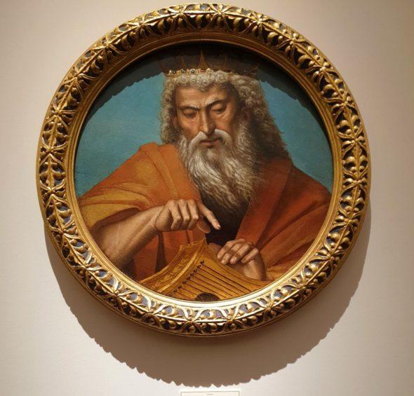 Re Davide di Luca Signorelli, 1502-1515, da Sarti